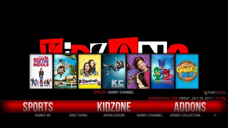 Kodi Lite BB Build Kids Zone
