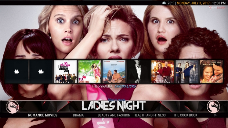 Kodi HardNox Build Ladies Night