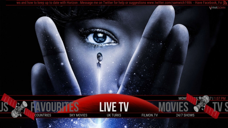 Kodi Horizon Build Live TV