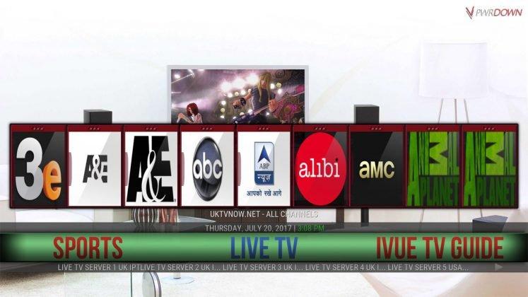 Kodi Dazbo Build Live TV