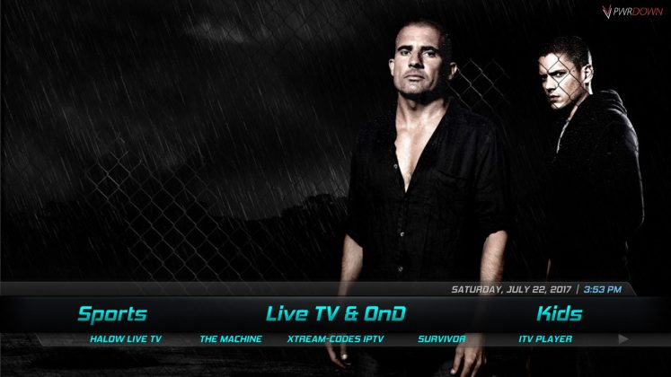 Kodi Orroo Build Live TV