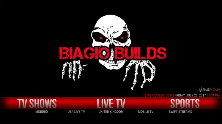 Kodi Lite BB Build Live TV