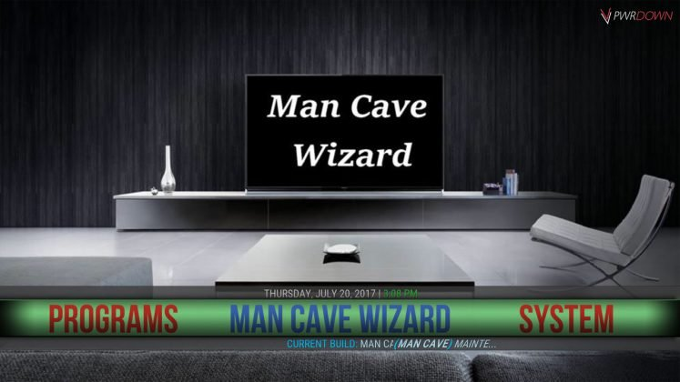 Kodi Dazbo Build Man Cave Wizard