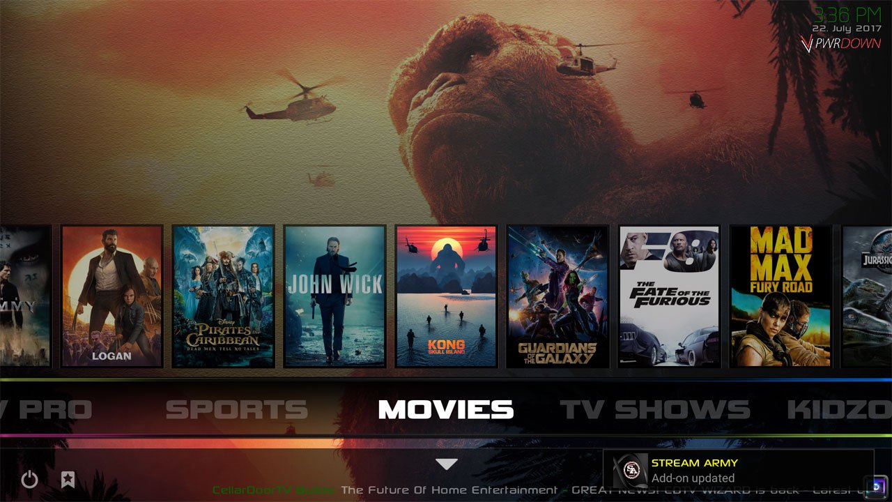 Kodi Infusion Build Movies