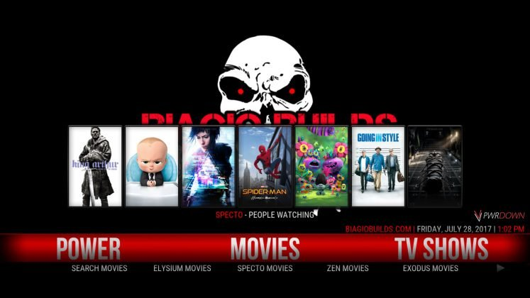 Kodi Lite BB Build Movies