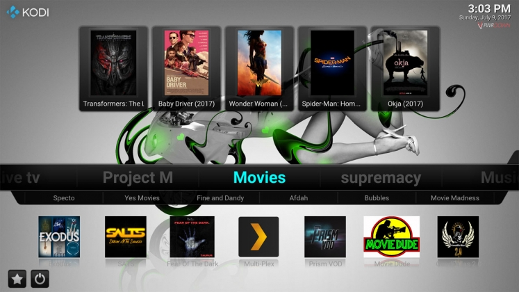 Kodi Stardust Build Movies
