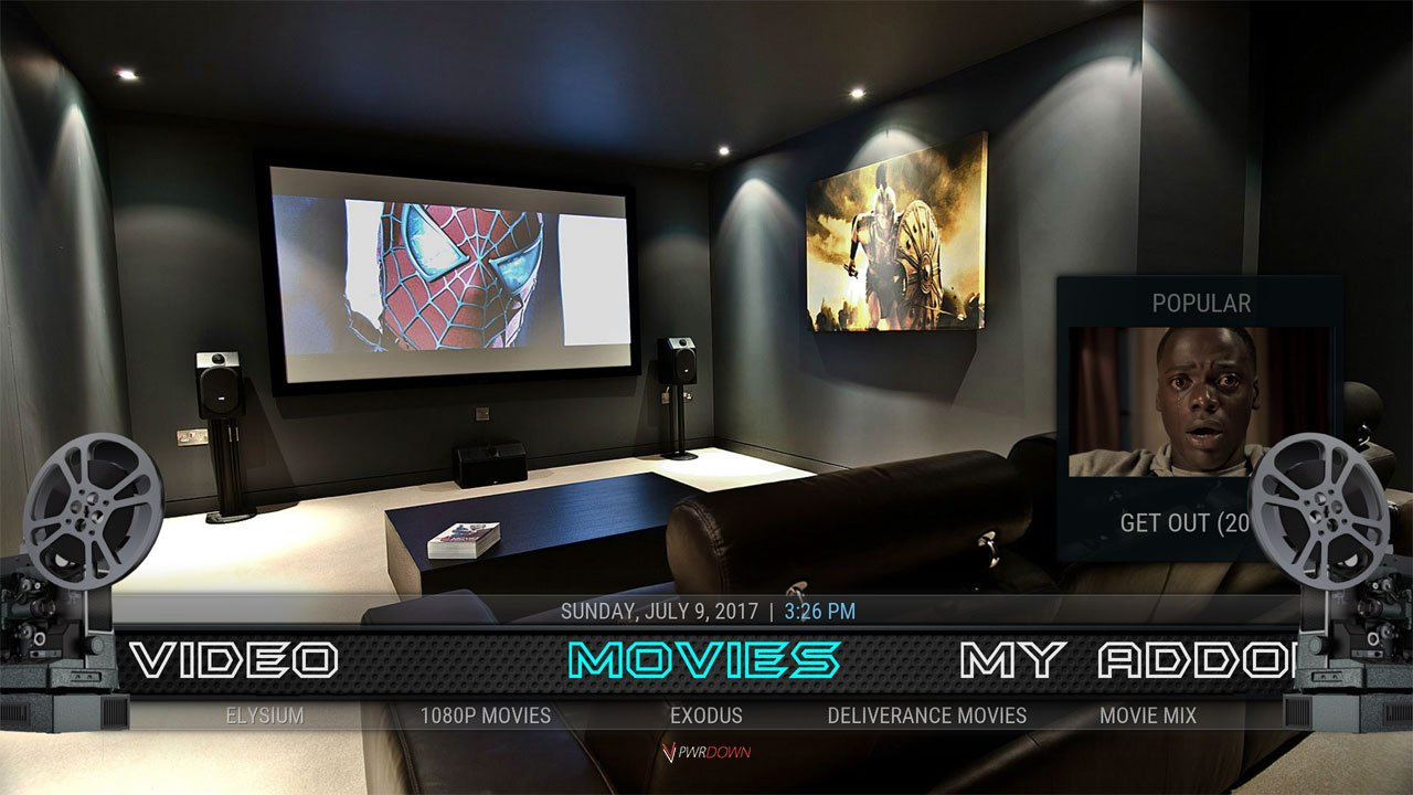 Kodi Mach 1 Build Movies