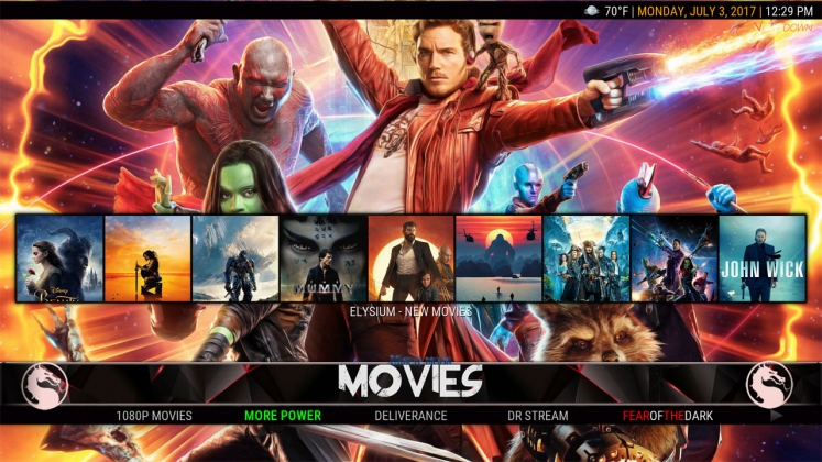 Kodi HardNox Build Movies