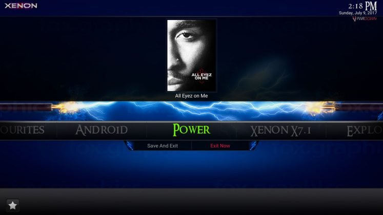Kodi Xenon Build Power