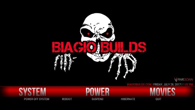 Kodi Lite BB Build Power