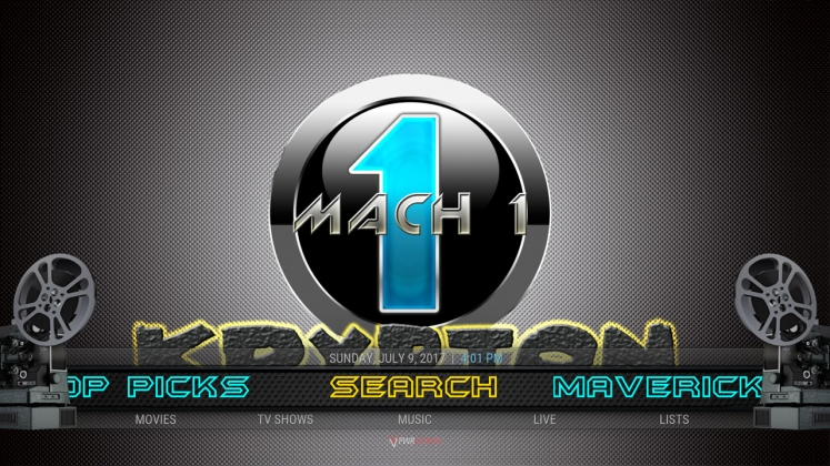Kodi Mach 1 Build Search