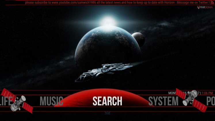 Kodi Horizon Build Search