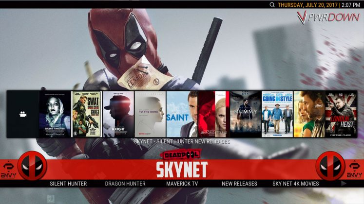 Kodi Project X Build Skynet