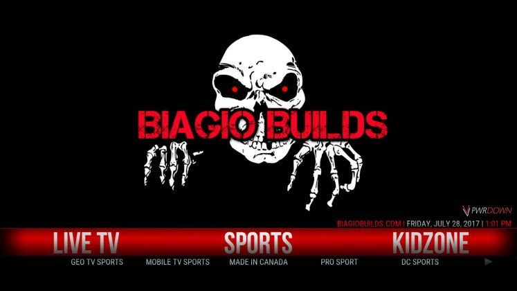 Kodi Lite BB Build Sports