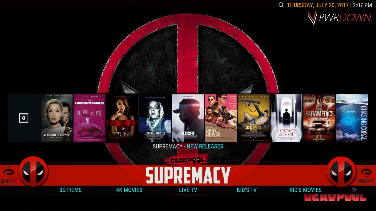 Kodi Project X Build Supremacy