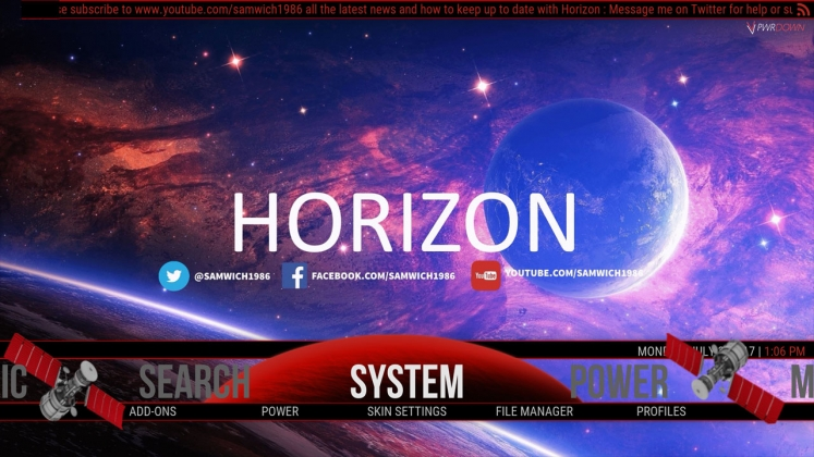 Kodi Horizon Build System