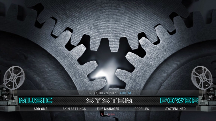 Kodi Mach 1 Build System
