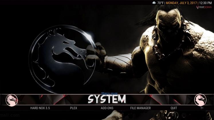 Kodi HardNox Build System