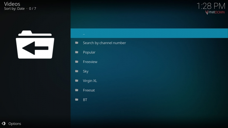 Kodi Quantum Add-on TV Guide