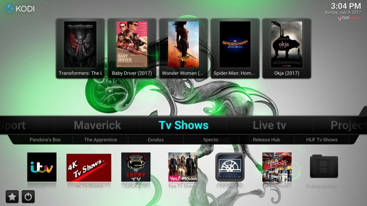 Kodi Stardust Build TV Shows