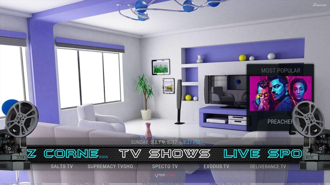 Kodi Mach 1 Build TV Shows