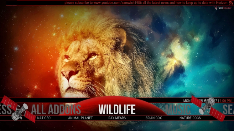Kodi Horizon Build Wildlife
