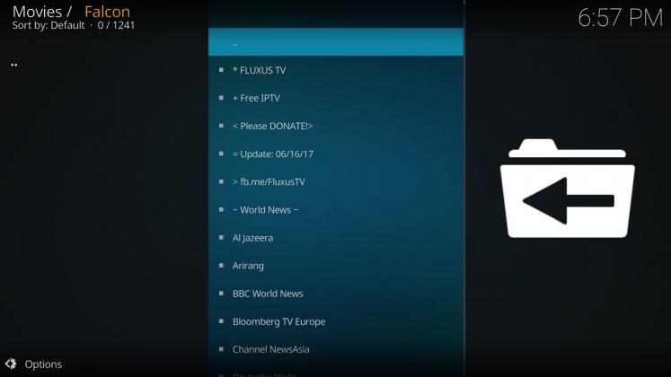 How to install Falcon Live TV on Kodi Krypton - PwrDown