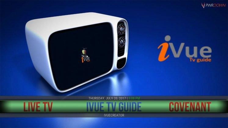 Kodi Dazbo Build iVue TV Guide