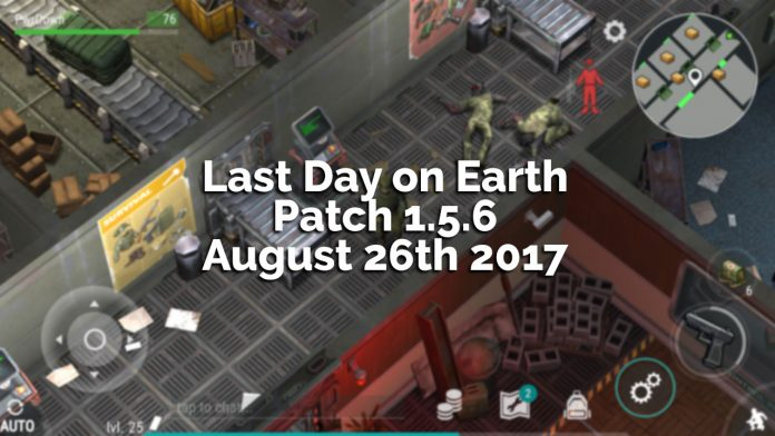 Last Day on Earth: Survival Patch 1.5.6