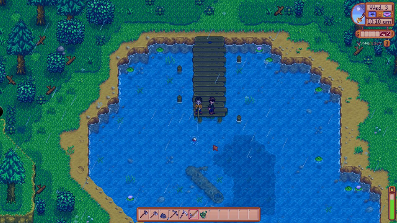 Fishing in Stardew Valley Multiplayer