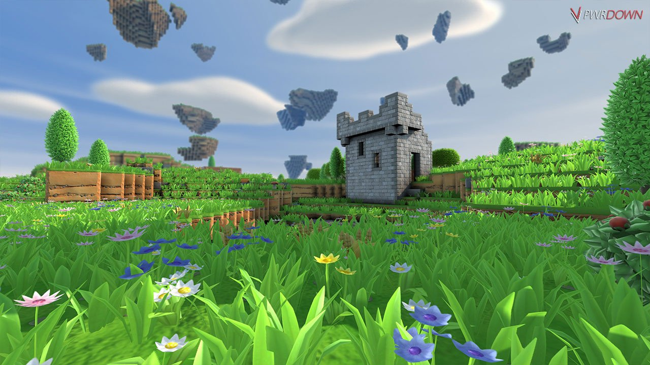 Portal Knights castle structure