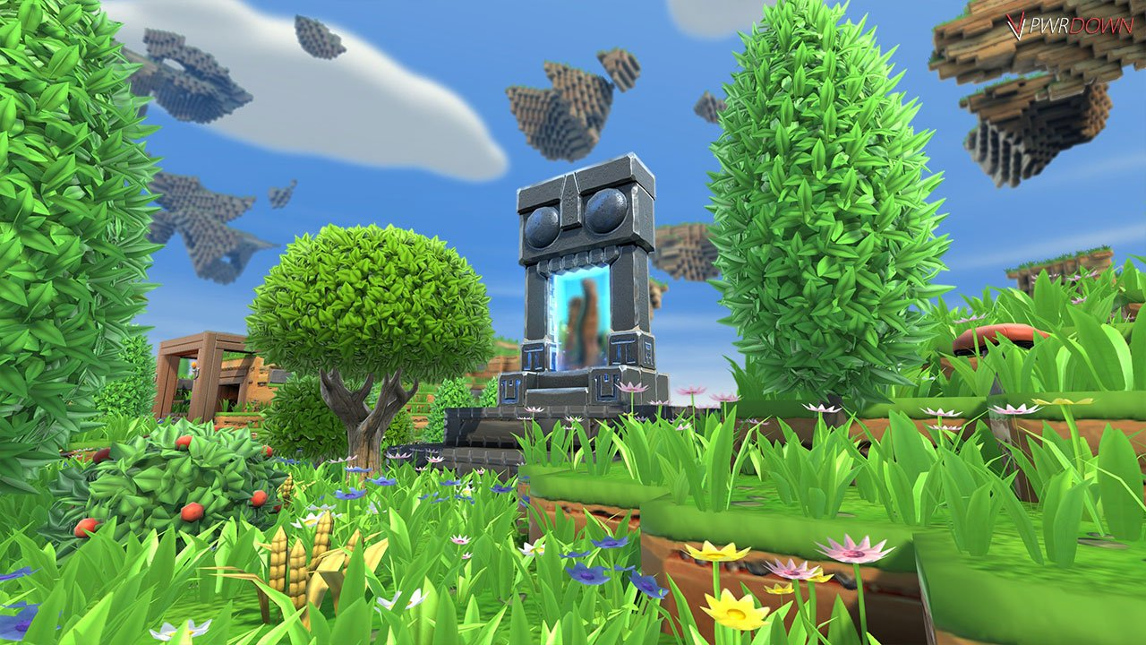 Portal Knights fully repaired portal