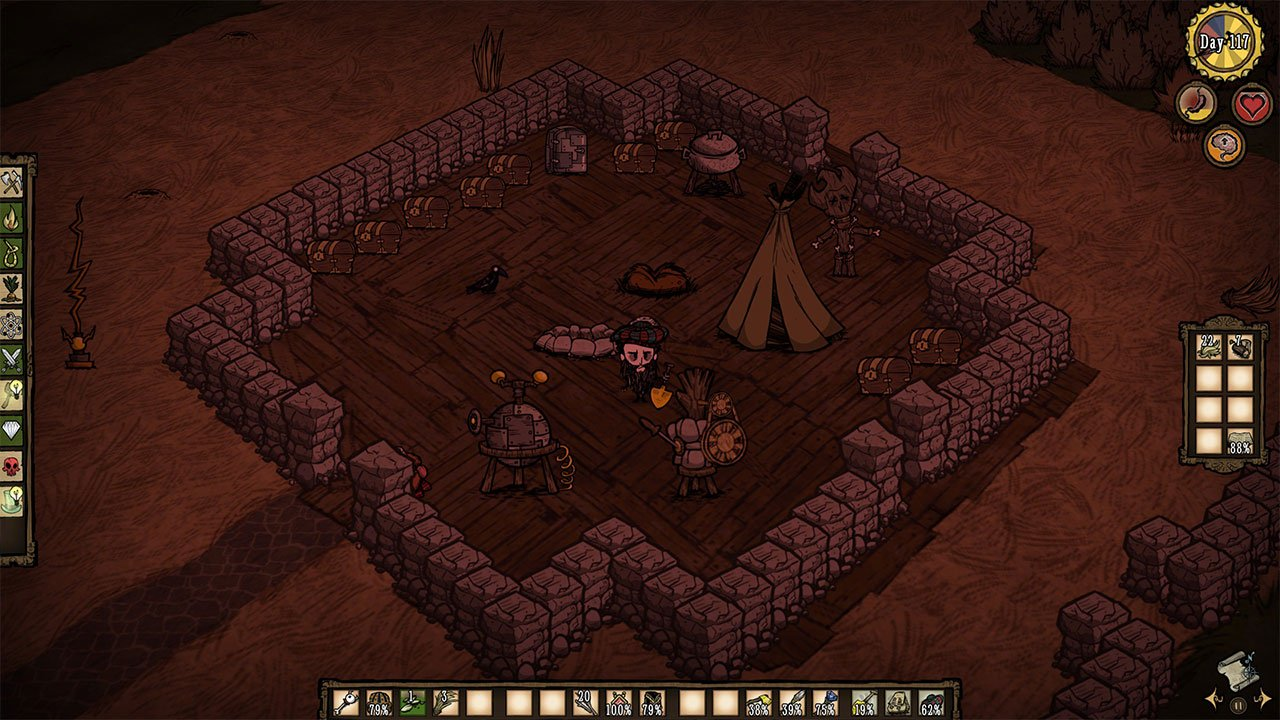 Don't Starve how to heal