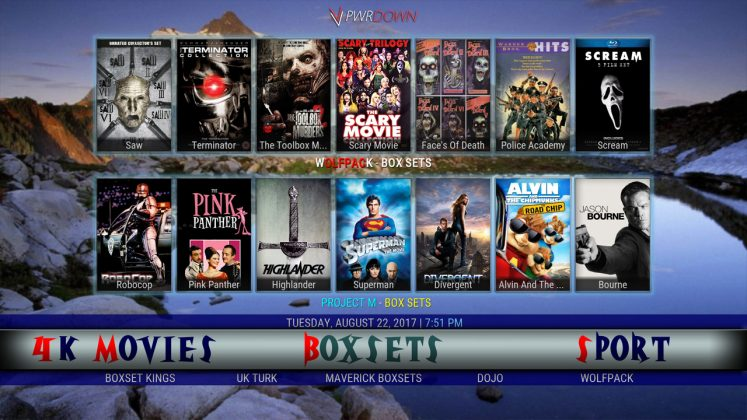 Kodi Steptoe's Build Box Sets