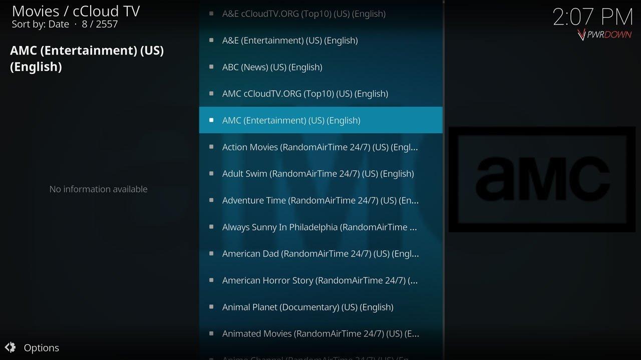 Best Kodi Addons of September 2017 cCloud TV