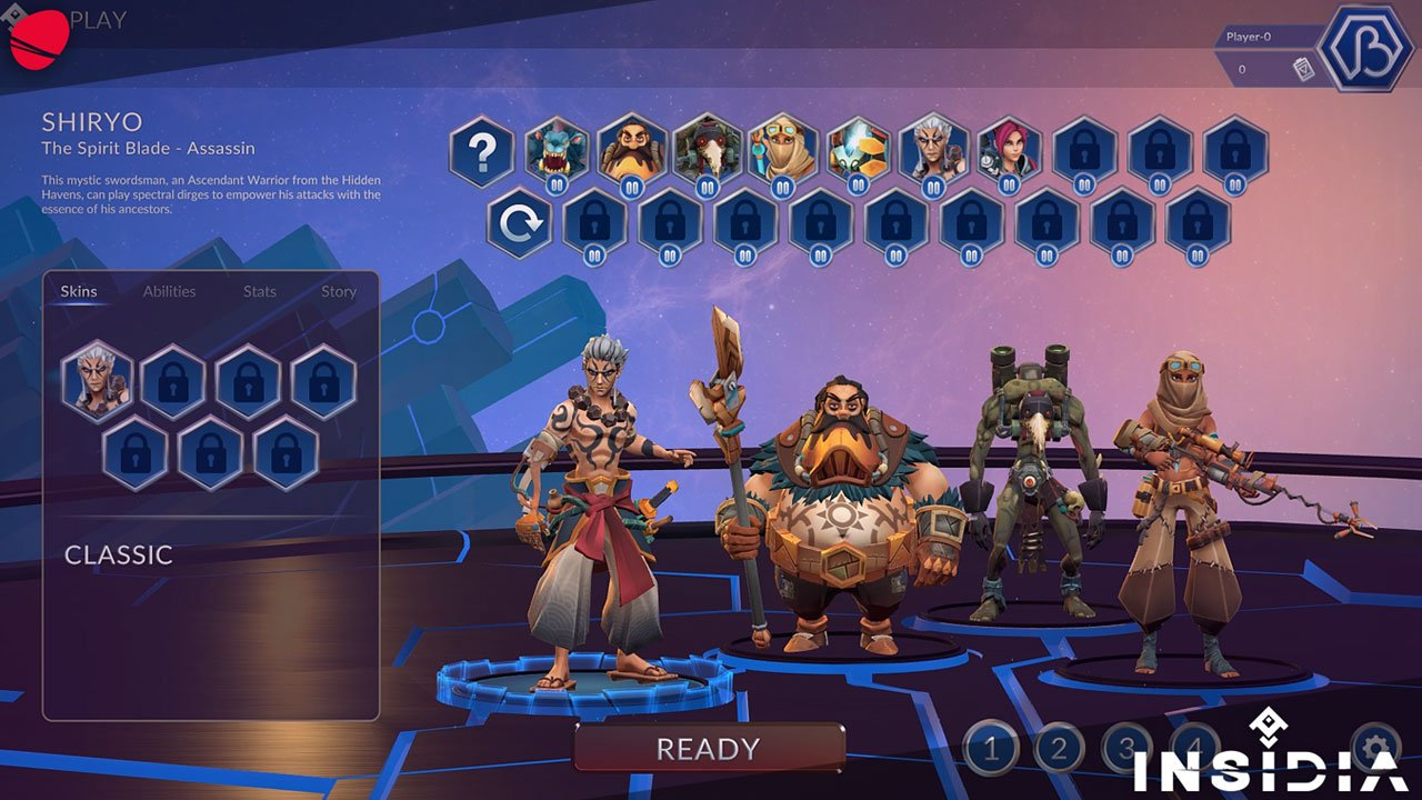 In game screenshot of INSIDIA showing characters