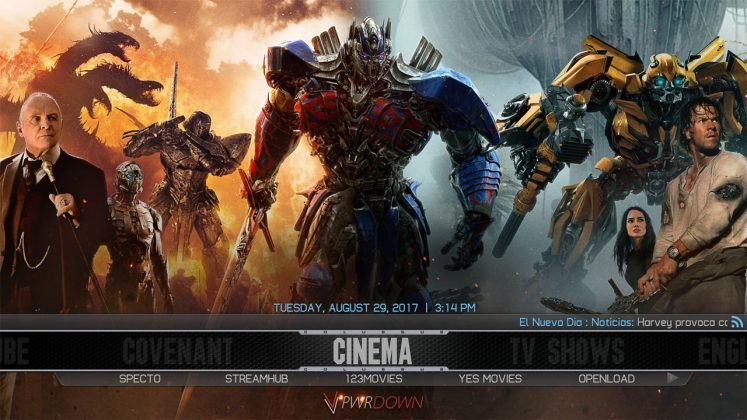 Kodi Colossus Build Cinema