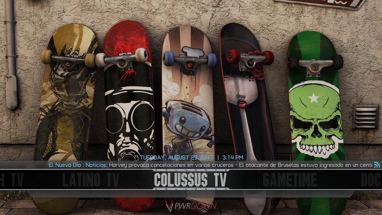 Best Kodi Builds September 2017 Colossus preview