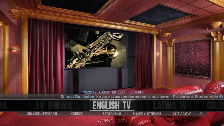 Kodi Colossus Build English TV