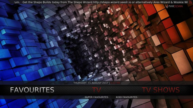 Kodi Shepo Build TV