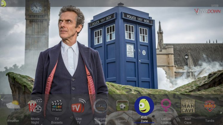 Kodi Tardis Builds Kids
