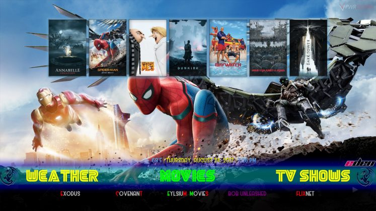 Kodi Eden Builds Movies