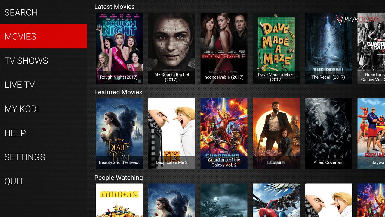 Kodi Streetwise Build Movies