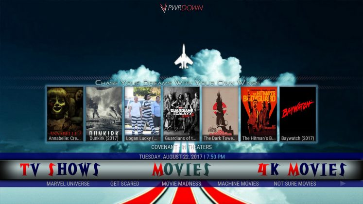 Kodi Steptoe's Build Movies