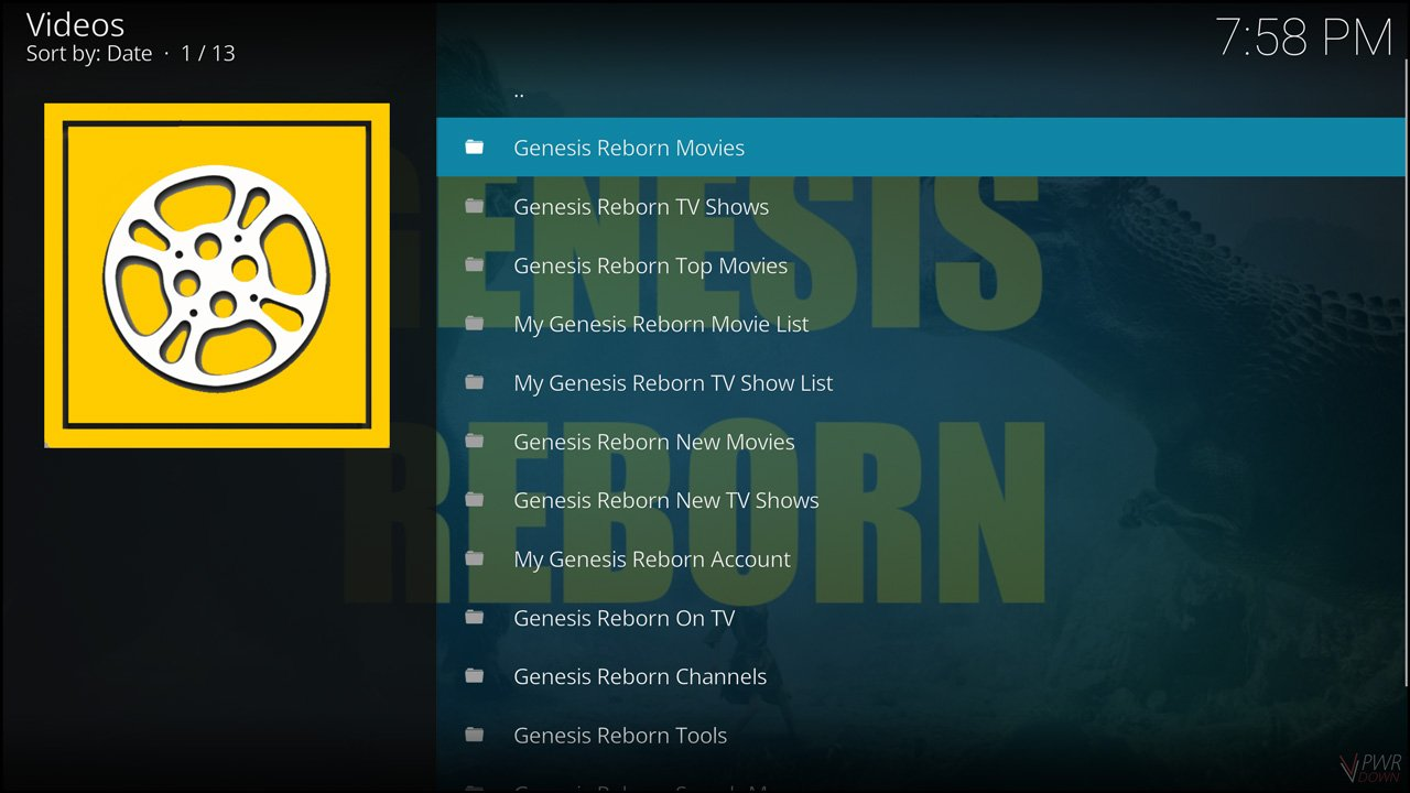 Best Video Add-ons for Kodi Krypton Genesis Reborn