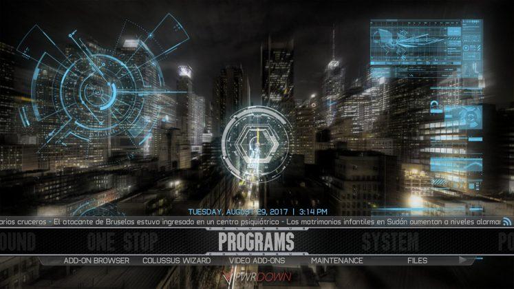 Kodi Colossus Build Programs