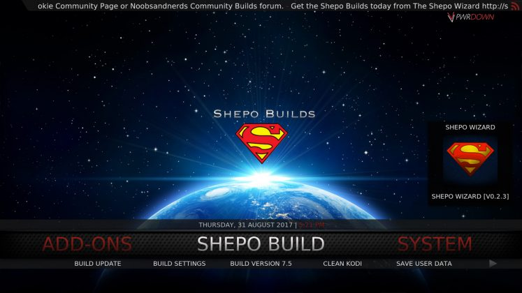 Kodi Shepo Build