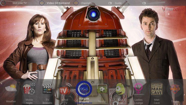Kodi Tardis Builds Stargate