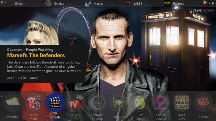 Kodi Tardis Builds TV Boxsets
