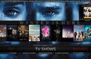 Kodi Shepo Build TV Shows